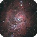 M8 - Lagoon Nebula Core,                                Dwayne