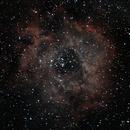 NGC2238 - Rosette Nebula - 20210208 - StarTravel80 - UHC,                                altazastro