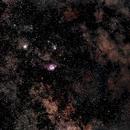 NGC6514 / 6523,                                Lucien Falco
