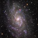 M33 - Triangulum galaxy,                                andrealuna