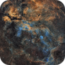 Gamma Cygni Nebula and Crescent Nebula,                                Marukawa