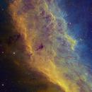 California Nebula Hubble Palette - NGC 1499,                                Eric Coles (coles44)