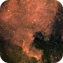 North America Nebula in RGB-Ha,                                stevebryson