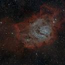 Nébuleuse de la lagune M8,                                Jacques CROIZIERS