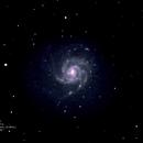 M101 Pinwheel Galaxy,                                Robert Van Vugt