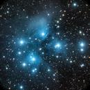 LRGB - Pleiades (M45),                                  Min Xie