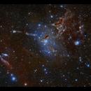 The Helping Hand Nebula in Cassiopeia,                                Göran Nilsson