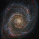 M51 from Hubble Legacy Archive,                                Mauricio Christiano de Souza