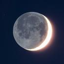 The Moon and Earthshine,                                Gideon Golan