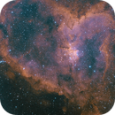IC 1805 - Heart Nebula | HA + O3 Bicolor,                                dbenji