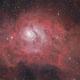 M 8 Lagoon Nebula,                                Dave Watkins