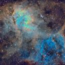 The Lion Nebula (Sh2-132) in SHO,                                Cfosterstars