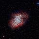 M1 Crab Nebula,                                Morris Yoder