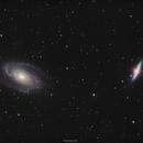 M81 & M82 in HaLRGB,                                John