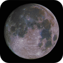 Lunar Disc, Waxing Gibbous, 98% Illumination, Saturated RGB, 04-06-2020,                                Martin (Marty) Wise