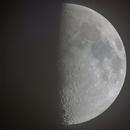 Hi-res first quarter Moon,                                Jairo Amaral
