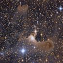 Ghost Nebula vdB141 (Detail),                                AstroEdy