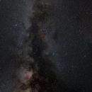 Milky Way from Perseus to Carina,                                Hartmuth Kintzel