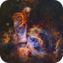 NGC 3372- Eta Carina Nebula in Narrowband,                                Andy 01