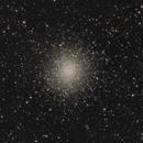 Globular Cluster M14 (LRGB) - 12 May 2020,                                Geof Lewis