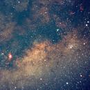 Milky Way and Lagoon,                                Trevor McDougall