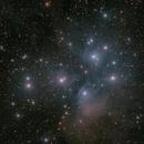 Messier 45 The Pleiades,                                Matt Dugas