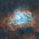 M8 - Lagoon Nebula,                                Charlie Miller