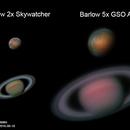 Mars and Saturn on Celestron C6,                                Samuel Müller