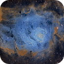 M8 Lagoon Nebula. A public data pool created by Theodore Arampatzoglou,                                D@vide