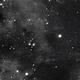 Jellyfish Nebula in Ha cropped - nice closeup view,                                Mike