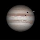 Jupiter - Ganymede & Io transit  -  16.03.2016,                                Łukasz Sujka