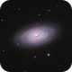 The Black Eye Galaxy m64,                                Hunter Harling
