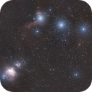 A testament to the Samyang - Cloudy Orion Mosaic,                                Lee