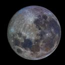 ISS Transit of Full Moon,                                MoonBoy