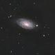 M63- Sunflower Galaxy,                                Pianoplayer55