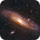 M31 Andromeda Galaxy from 33° Southern Hemisphere (13° alt.),                                Michel Lakos M.