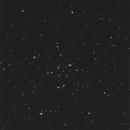 M34 open cluster, survey image,                                erdmanpe