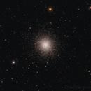 Messier 13 actual pixels crop,                                Michael_Xyntaris