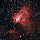 Swan Nebula HaRGB,                                Carl Schreiner