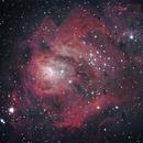 Lagoon Nebula,                                Steve Bacon