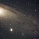 M 31 Andromedanebel,                                alphaastro (Rüdiger)