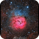 Messier 20 - Trífida Nebula - Drizzle - Final Version,                                Maicon Germiniani
