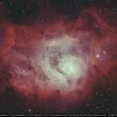 Cosmos's Maternity Hospital - the star-forming Lagoon Nebula in HOO,                                Doantuanduong