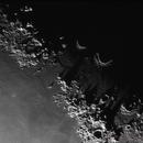 Huge Shadows of Montes Caucasus,                                Bert Scheuneman
