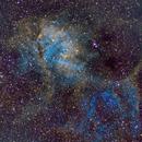 Lion Nebula, SH2-232,                                Harith Alshuwaykh
