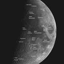 Moon mosaic #1,                                Oscar Meca
