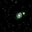 Whirlpool Galaxy,                                krackerjuice