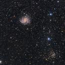 NGC 6946-(Fireworks Galaxy) & NGC 6939,                                Bob J