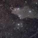 complesso di nubi in Cefeo dove spicca Vdb149,                                Rolando Ligustri