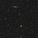 NGC 891 - 17 et 19 octobre 2017,                                dsoulasphotographie